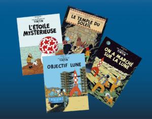 Tintin Astronome