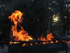 Dernier vendredi : soirée barbecue