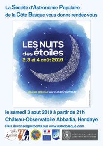 Les nuits des Étoiles 2019 @ Château Abbadia | Hendaye | Nouvelle-Aquitaine | France