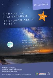 Semaine de l'Astronomie @ Villa Ducontenia | Saint-Jean-de-Luz | Nouvelle-Aquitaine | France