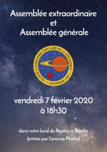 Assemblée Générale @ École Reptou | Biarritz | Nouvelle-Aquitaine | France