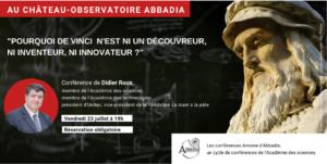 « Pourquoi De Vinci n'est ni un découvreur, ni inventeur, ni innovateur ? »