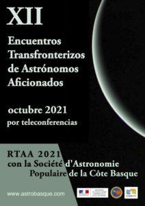 12 Encuentros Transfronterizos de Astrónomos Aficionados Octubre 2021
